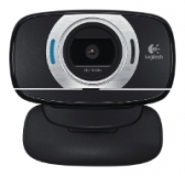 Logitech Full HD 1080p Webcam C615, USB 2.0, 1280*720, 8Mpix foto, Mic, Black ( 960-000737)