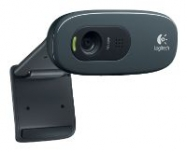 Logitech HD Webcam C270, USB 2.0, 1280*720, 3Mpix foto, Mic, Black ( 960-000636)