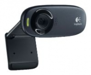 Logitech HD Webcam C310, USB 2.0, 1280*720, 5Mpix foto, Mic, Black ( 960-000638)