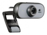 Logitech Webcam C100, USB 2.0, 1.3Mpix foto, 640*480, White/Grey ( 960-000555)
