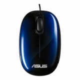 Mouse ASUS Seashell Optical USB Blue Retail 1000 dpi (V2) ( 90-XB0800MU000B0-)