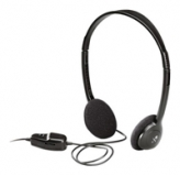 Headphones Logitech Dialog-220 (20-20000Hz, volume control, 3.5mm jack, 1.6m) ( 980177-0000)