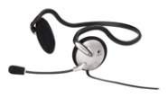 Headset Logitech PC 120 (20-20000Hz, mic, volume control, 2x3.5mm jack, 2m) ( 980447-0914)