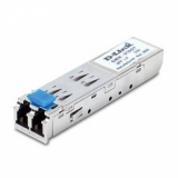 1-port mini-GBIC 1000Base-LX Single-mode Fiber Transceiver (LC, up to 10km, support 3.3V power) ( DEM-310GT)